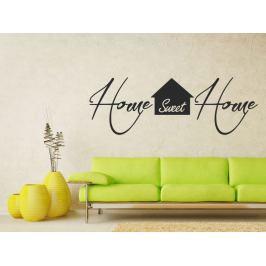 Samolepka na zeď Nápis Home Sweet Home 0630