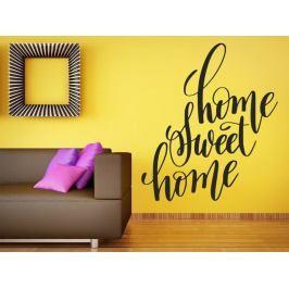 Samolepka na zeď Nápis Home Sweet Home 0631