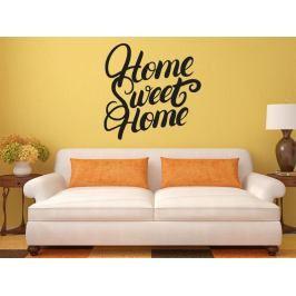 Samolepka na zeď Nápis Home Sweet Home 0633