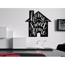 Samolepka na zeď Nápis Home Sweet Home 0635
