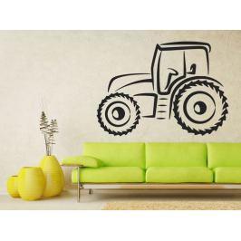 Samolepka na zeď Traktor 0711