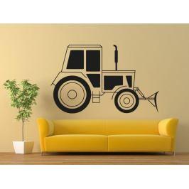 Samolepka na zeď Traktor 0712