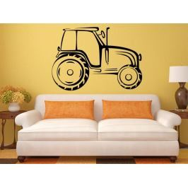 Samolepka na zeď Traktor 0714
