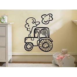 Samolepka na zeď Traktor 0719