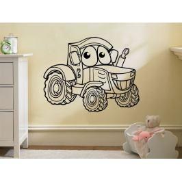 Samolepka na zeď Traktor 0723