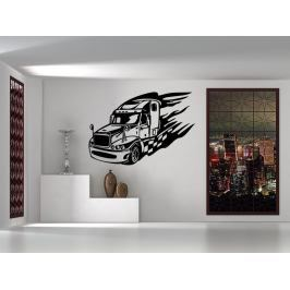 Samolepka na zeď Kamion 0736