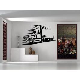 Samolepka na zeď Kamion 0744