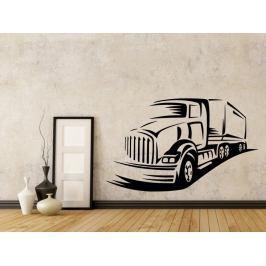 Samolepka na zeď Kamion 0745