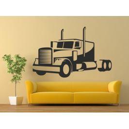 Samolepka na zeď Kamion 0756