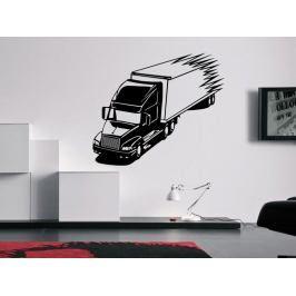 Samolepka na zeď Kamion 0757