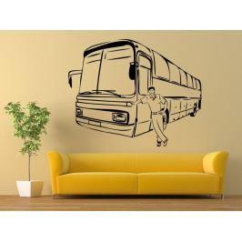 Samolepka na zeď Autobus 0783