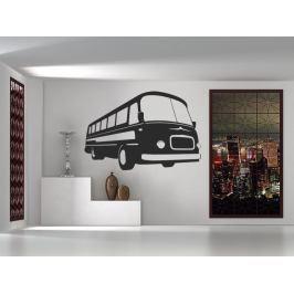 Samolepka na zeď Retro autobus 0787