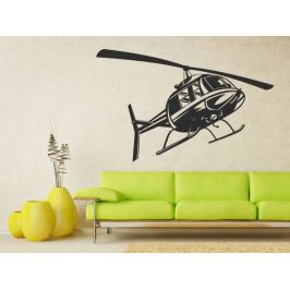 Samolepka na zeď Helikoptéra 0808