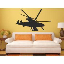 Samolepka na zeď Helikoptéra armádní 0811