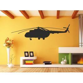 Samolepka na zeď Helikoptéra 0812