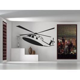 Samolepka na zeď Helikoptéra 0813
