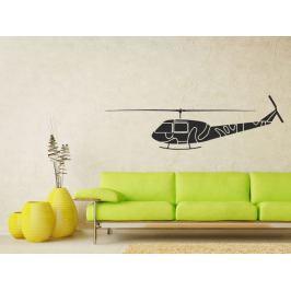 Samolepka na zeď Helikoptéra 0815