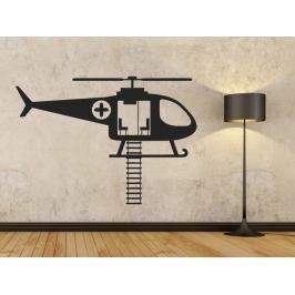 Samolepka na zeď Helikoptéra záchranářská 0816
