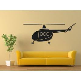 Samolepka na zeď Helikoptéra 0817