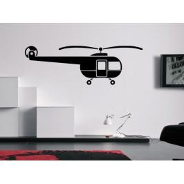 Samolepka na zeď Helikoptéra 0818