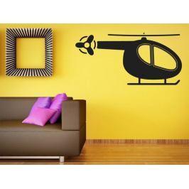 Samolepka na zeď Helikoptéra 0820