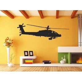 Samolepka na zeď Helikoptéra 0821