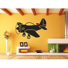 Samolepka na zeď Letadlo 0830