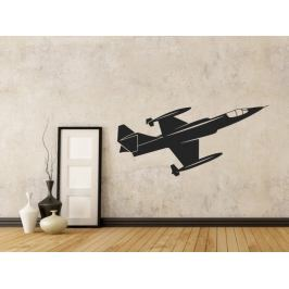 Samolepka na zeď Letadlo 0832