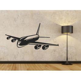 Samolepka na zeď Letadlo 0833