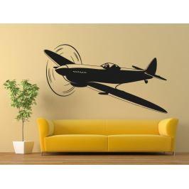 Samolepka na zeď Letadlo 0835
