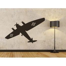 Samolepka na zeď Letadlo 0838