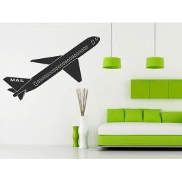 Samolepka na zeď Letadlo 0865