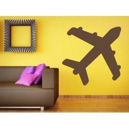Samolepka na zeď Letadlo 0867