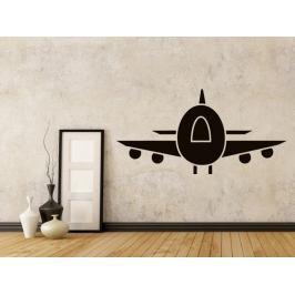 Samolepka na zeď Letadlo 0871