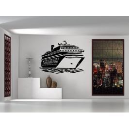 Samolepka na zeď Loď výletní 0934