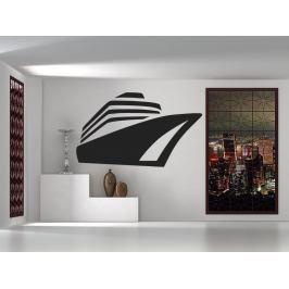 Samolepka na zeď Loď 0945