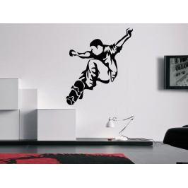 Samolepka na zeď Skateboardista 0953