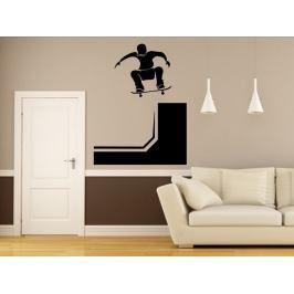 Samolepka na zeď Skateboardista 0955