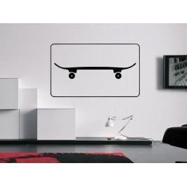 Samolepka na zeď Skateboard 0959