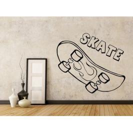 Samolepka na zeď Skateboard 0962