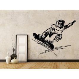 Samolepka na zeď Snowboardista 0969