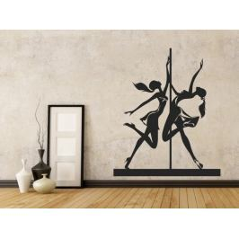 Samolepka na zeď Pole dance 0981