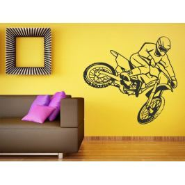 Samolepka na zeď Motokros 0988