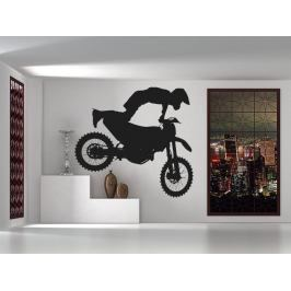 Samolepka na zeď Motokros 0990