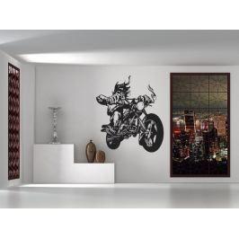 Samolepka na zeď Motorkář 1007