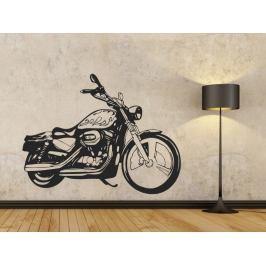 Samolepka na zeď Motorka 1011