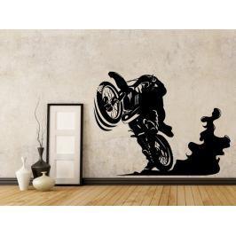 Samolepka na zeď Motorka 1019
