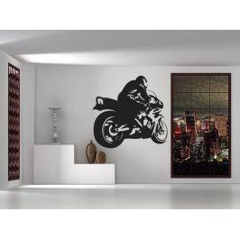 Samolepka na zeď Motorka 1020