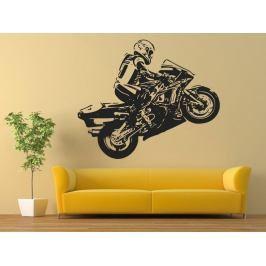 Samolepka na zeď Motorka 1024