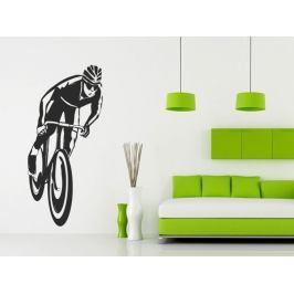 Samolepka na zeď Cyklista 1033